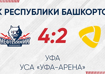 «Neftekhimik» won first of 3 games of «Bashkortostan Republic Cup 2020»